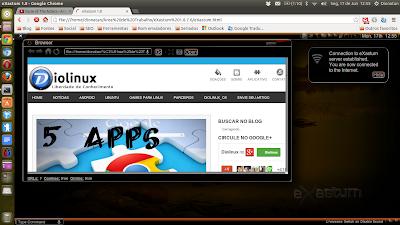 eXastum HTML5 Operational System