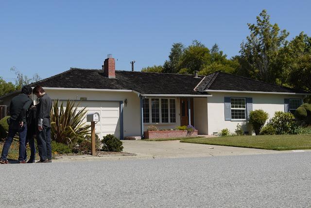 2011年に訪れたガレージ。2066 Crist Drive in Los Altos