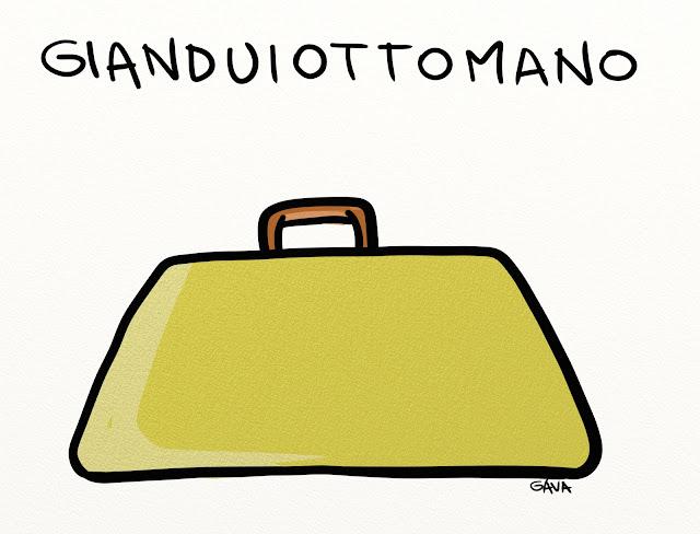 gava gavavenezia satira vignette illustrazioni gianduiotto valigia turchia italia pernigotti