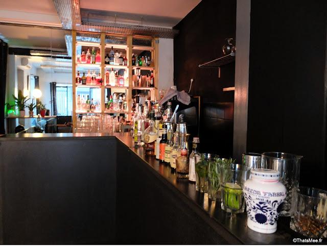 bar à cocktails Avek Paris 2eme, rue saint-sauveur nouveau quartier bars restos branchés cool Paris