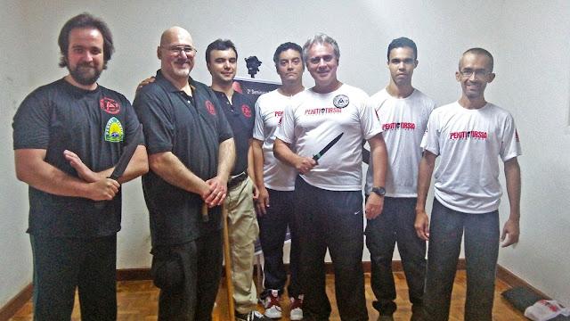 Delegação Kali MG com Equipe Tuhon Bill McGrath
