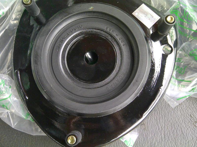 Dome} Penggantian karet support shockbreaker depan Aerio dengan KW