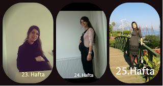 23hafta, 24hafta, 25hafta,fotoğraf, Miniğimle yaşam, miniğimleyaşam, hamilelik