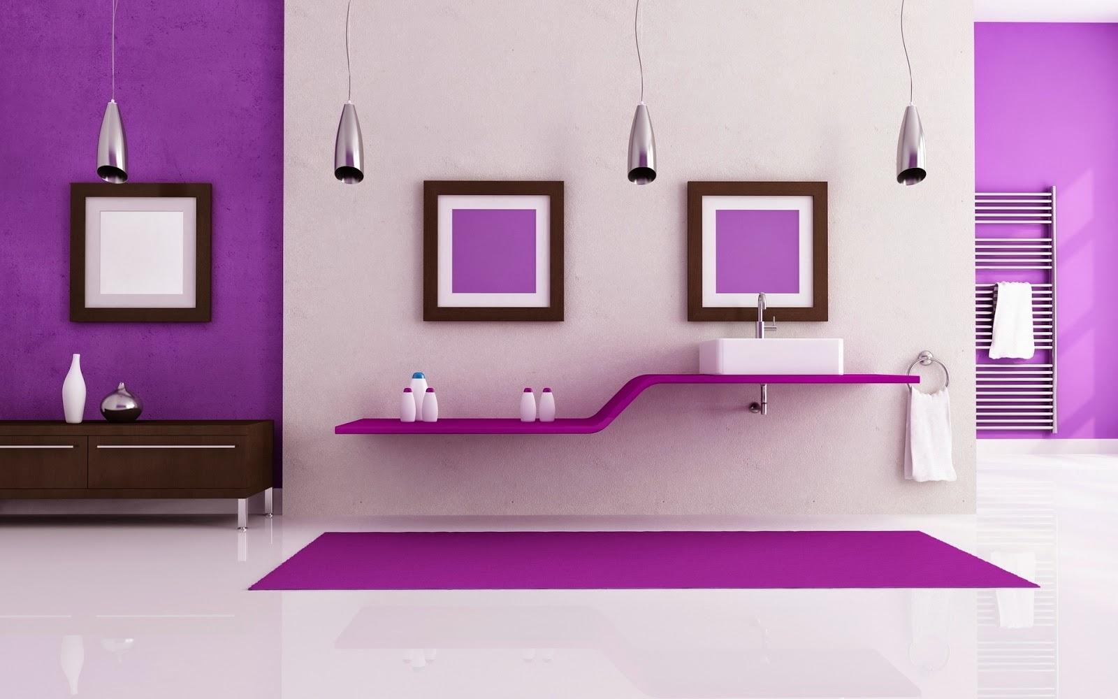 Interior de casa morado dise o interior morado fondos de pantalla hd wallpapers hd for Diseno de escritorios en casa