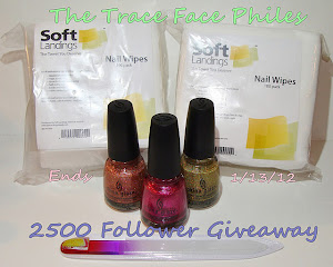 The Trace Face Philes 2500 Follower Giveaway!