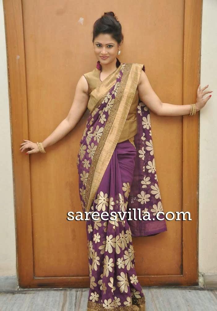 Shilpa Chakravarthy In Saree