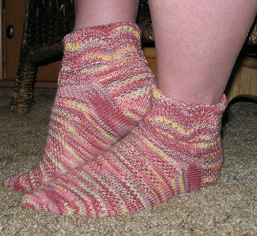 Sense and Sensibility Sock Pattern