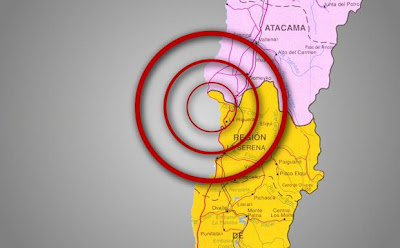 Sismo 6.0 grados sacude Chile, 30 de Abril de 2012