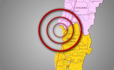 Sismo 6.0 grados sacude Chile, 30 de Abril de 2012