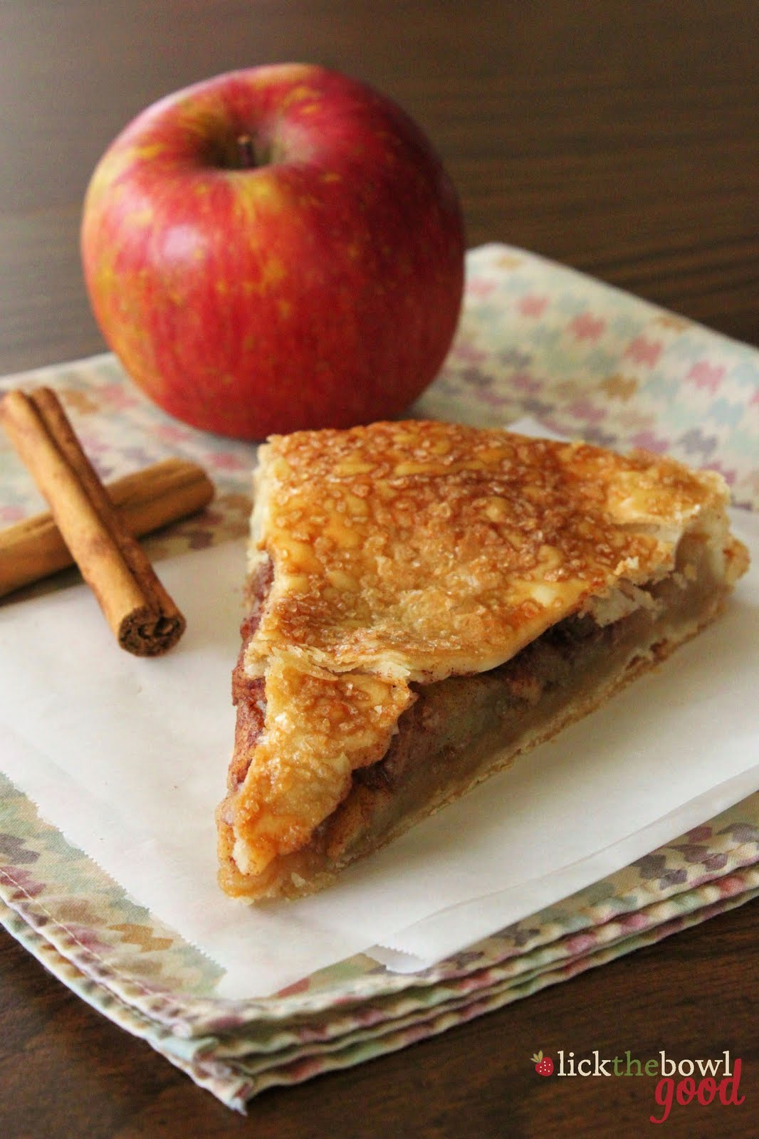 Lick The Bowl Good The Easiest Apple Pie Ever and A Visit From ...