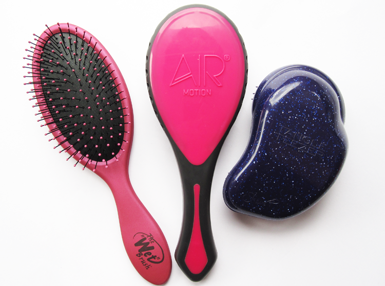 The Wet Brush vs Air Motion Pro Hairbrush vs Tangle Teezer review