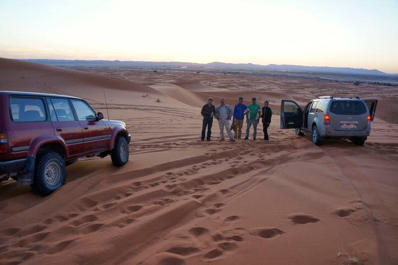 Visita las dunas con Aziz