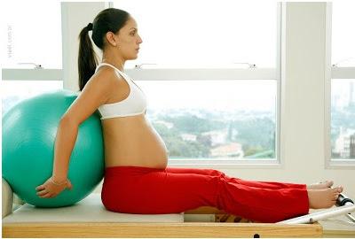 Atividades físicas na gravidez - Pilates