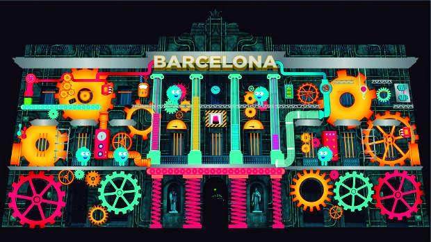 Festival de la luz Barcelona, año internacional de la luz