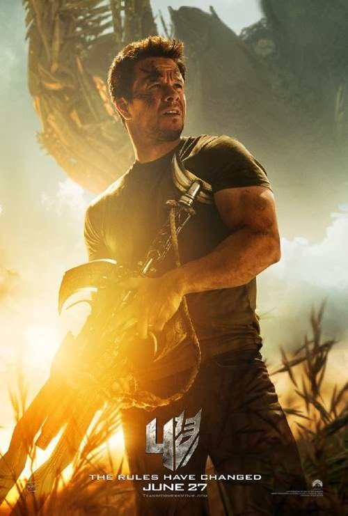 Transformers Age of Extinction Newest Trailer - Mark Wahlberg