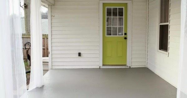 Chippasunshine How To Repaint A Concrete Porch
