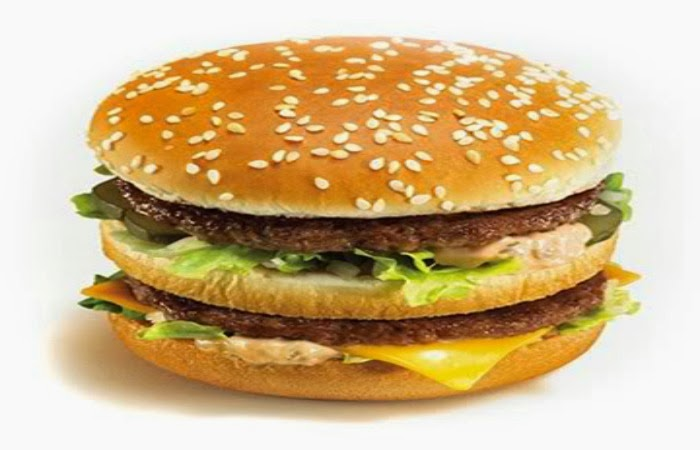 Obraz: kanapka Big Mac