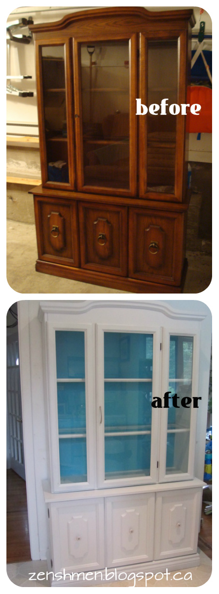 DIY Kitchen Hutch/Buffet Redo