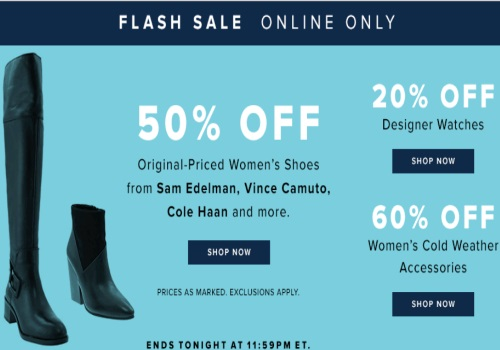 Hudson's Bay Flash Sale