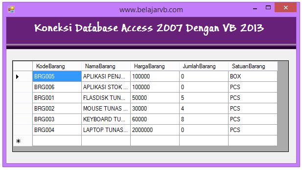 Belajar VB 2013 | Tutorial Visual Basic 2013