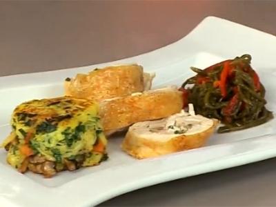 Piliç Sarma ve Patates Keki - Videolu Tarifi