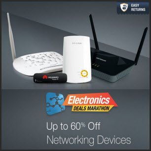 Amazon : Buy Networking Devicesupto 65% off from Rs.311 – Buytoearn