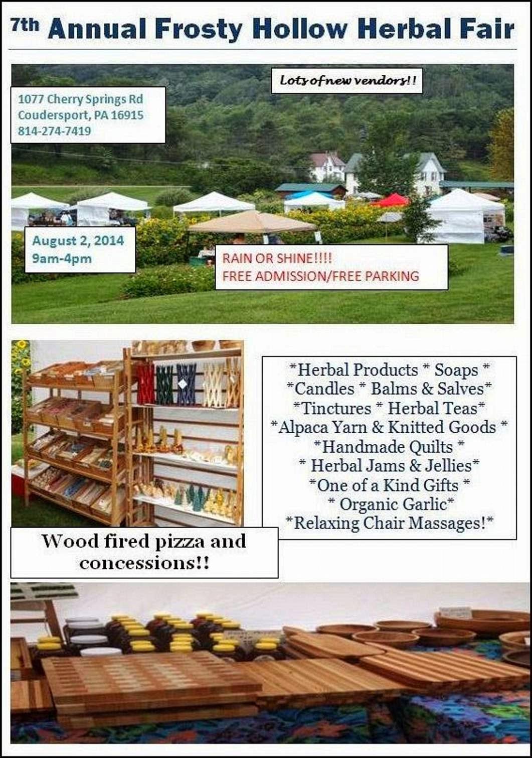 Frosty Hollow Herbal Fair