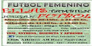 Fútbol Femenio All Boys De Saavedra