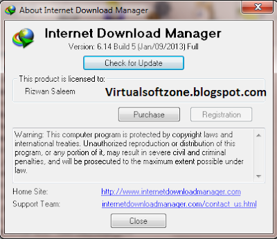 Internet Download Manager (IDM) v6.14 build 5 with Crack with Key