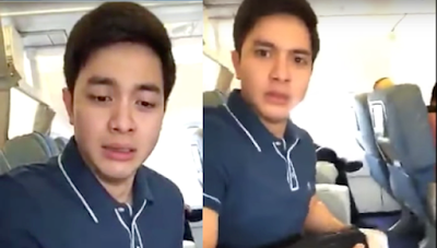 Alden's priceless reaction