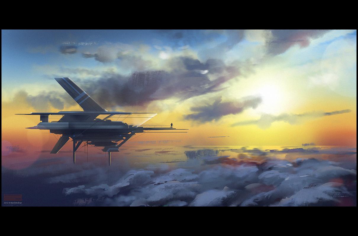 Mark molnar sketchblog of concept art and illustration for Flying haus