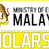Malaysia International Scholarship (Master and Ph.D) 2014