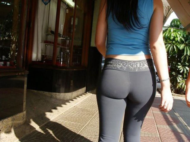 Sexy Ass In Yoga Pant