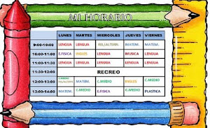 HORARIO 2011/12