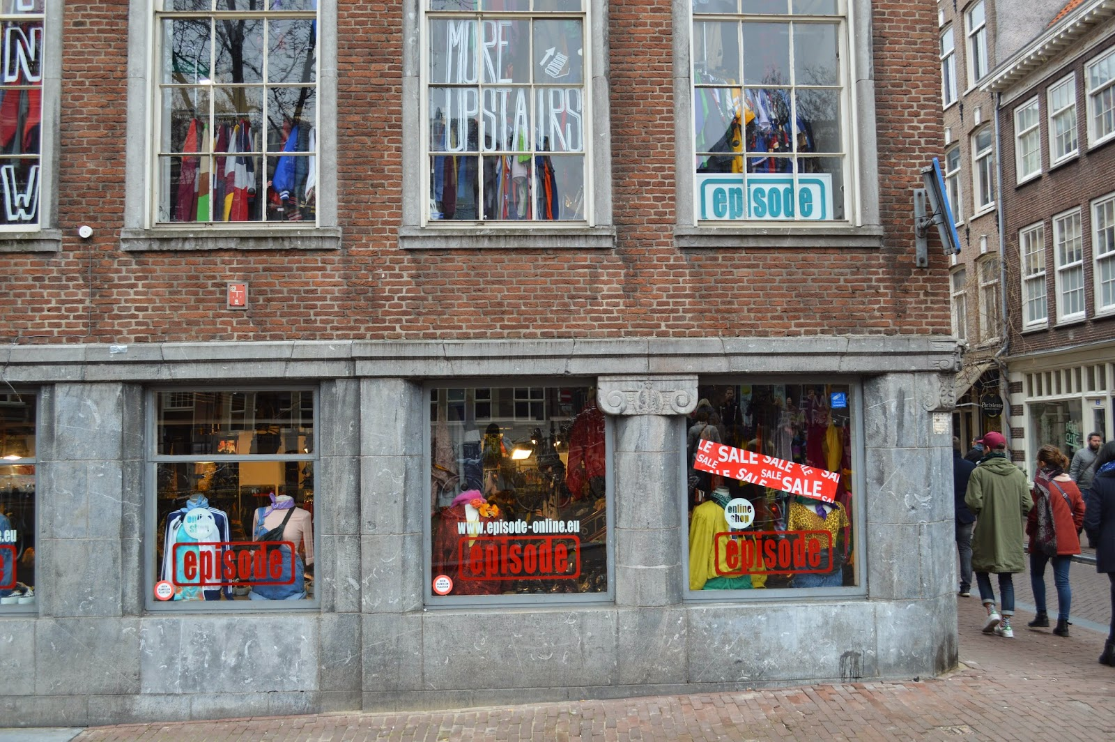 Episode vintage shop Amsterdam Nine Streets District