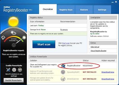 uniblue registry booster 2011 full
