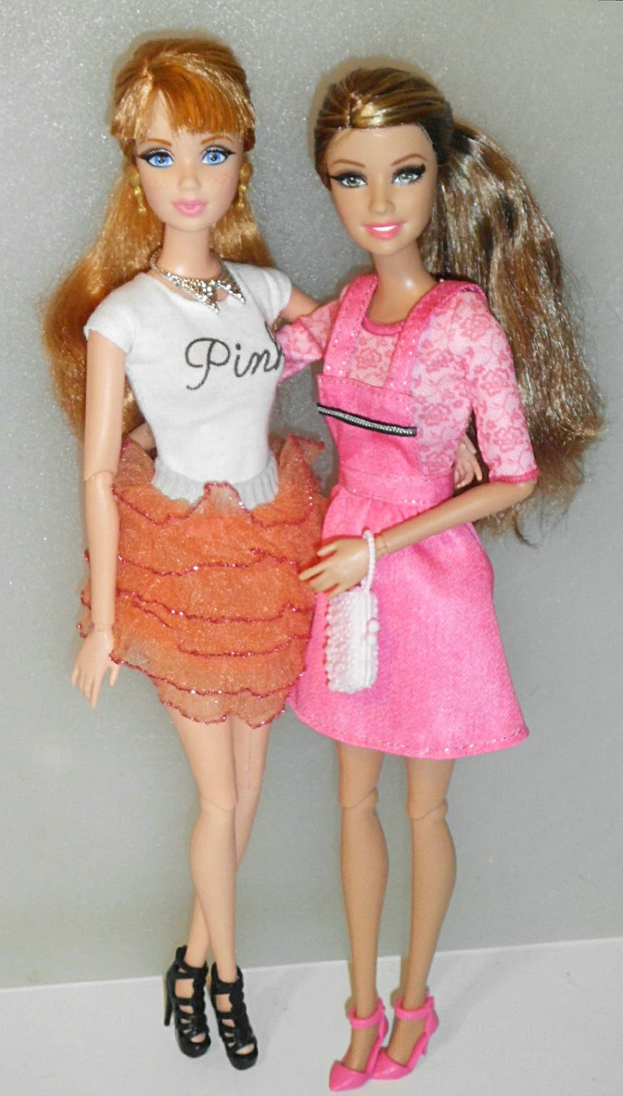 OUTFIT SET #1 Barbie Fashion Complete Look 2-Pack Birthday Set MODELS Life in the Dreamhouse Midge ( Midge ) on the left and Barbie Style Teresa ...  sc 1 st  Confessions of a Dolly Lover & Confessions of a Dolly Lover: Dolly Dress Discussion: new duds for ...