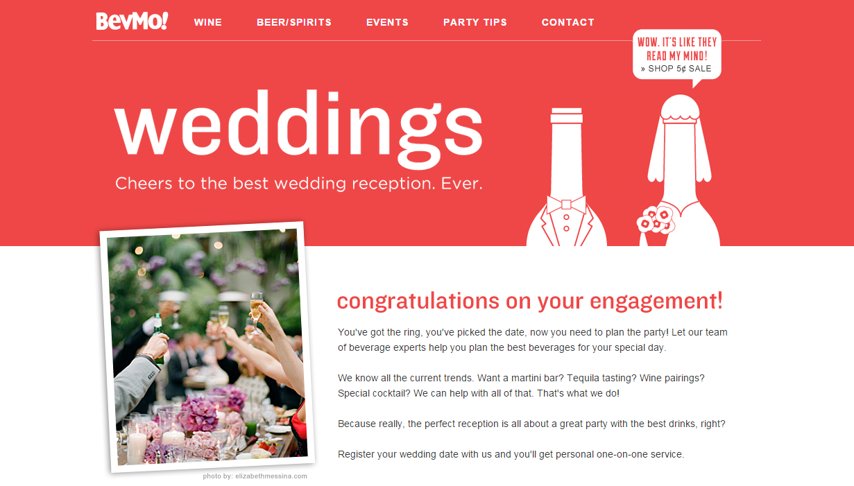 Wedding Industry Web Design & Digital Marketing