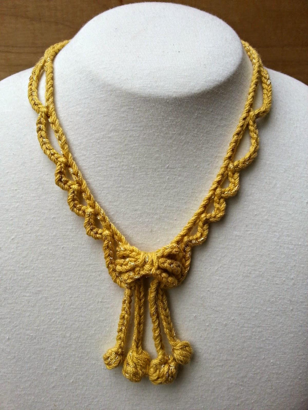 Stitch Story: New Free Crochet Jewelry Patterns for Kreinik!
