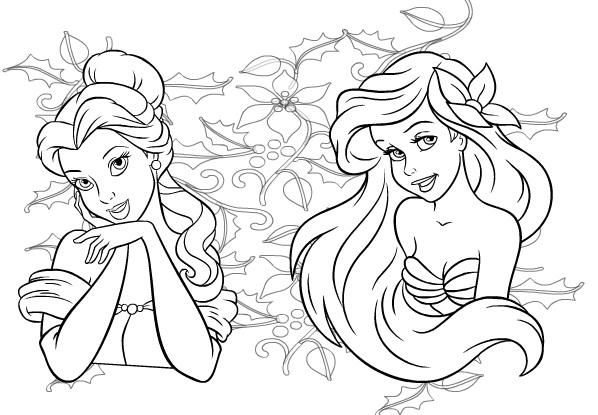 Princesas blanca nieve bebé para colorear en linea - Imagui
