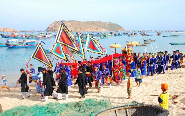 Cau Ngu Festival in Vietnam
