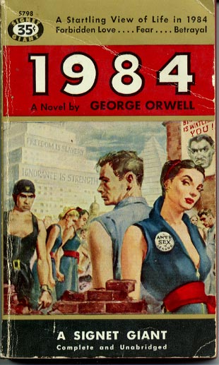 an analysis of the future in the novel 1984 by george orwell