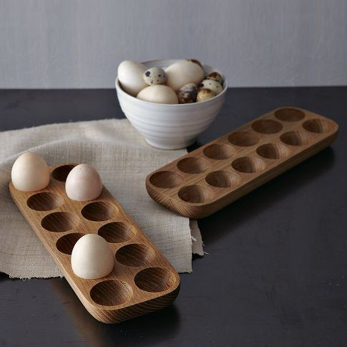 wooden egg holders
