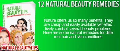 12 Natural Beauty Remedies
