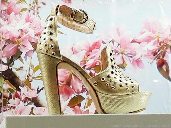 Sandalias 2014 moda calzados Donne.