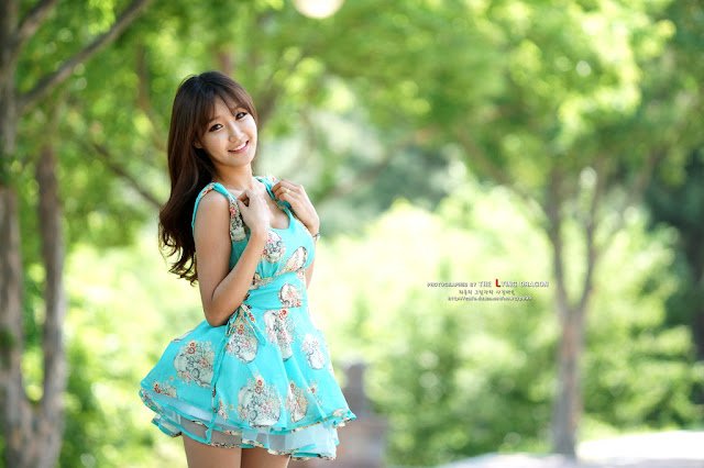 2 Jo In Young Outdoor - very cute asian girl - girlcute4u.blogspot.com