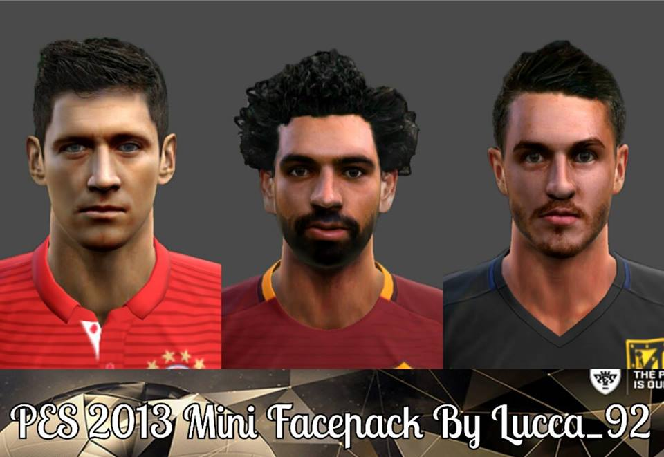 PES 2013 Mini Facepack by Lucca_92