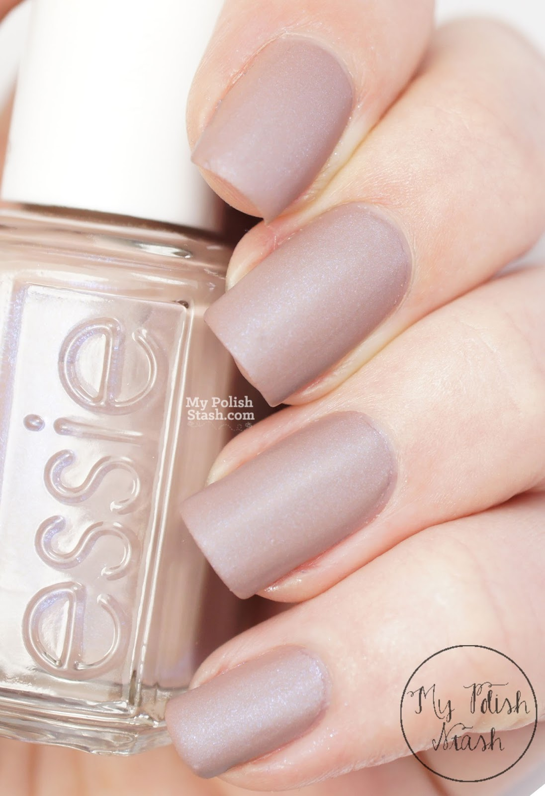 essie cashmere matte collection review