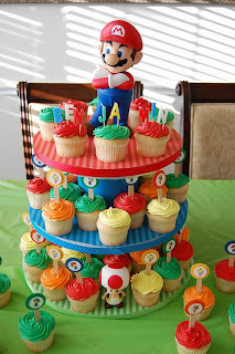 Boy Birthday Cupcakes Decoration