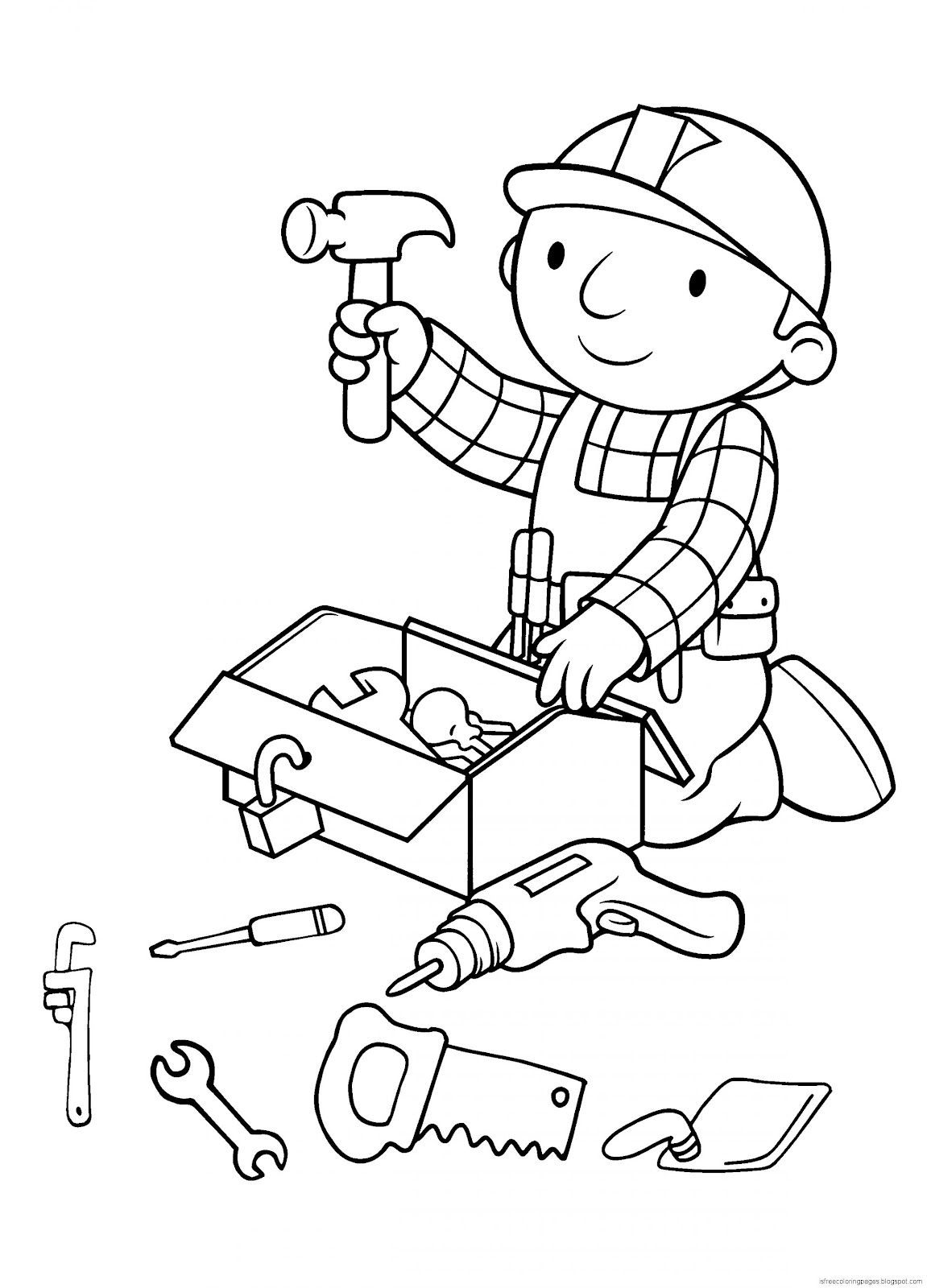 Bob The Builder Coloring Pages | Free Coloring Pages